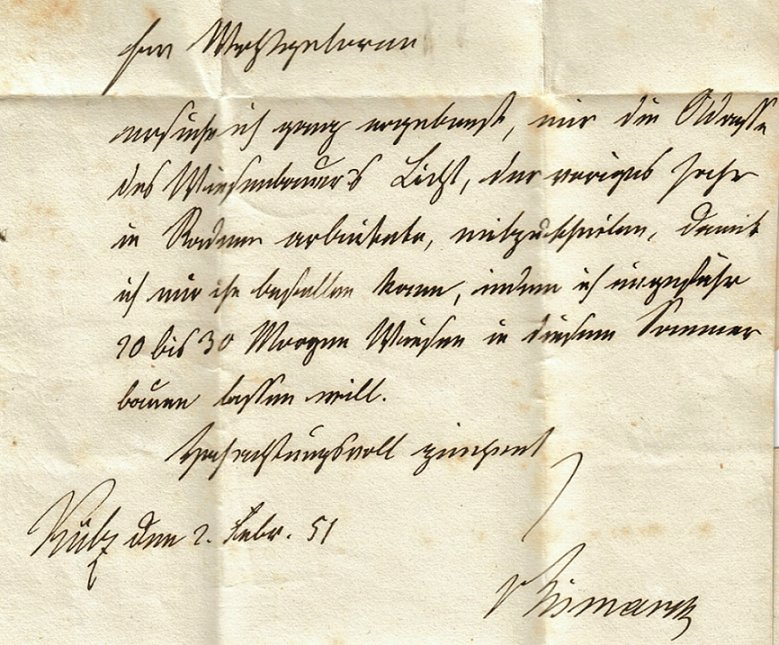 Brief Von Otto : Ein brief mit der unterschrift bismarcks preussensammler